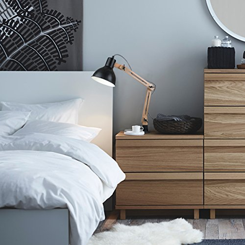 preisvergleich tomons leselampe im klassichen holz design willbilliger. Black Bedroom Furniture Sets. Home Design Ideas