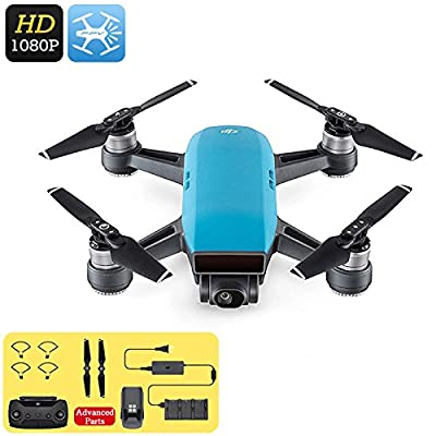 DJI Spark Mini Drone 1080p Camera 3D Sensor System 50Km/h FPV WiFi Gesture Mode by DJI