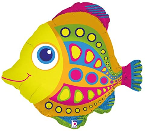 Betallic f85250–ballon-citrus poisson 27 ""