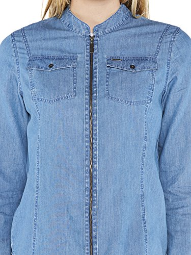 Colorado Denim Damen Hemden Luva Blau (softblue Bleach 6097)