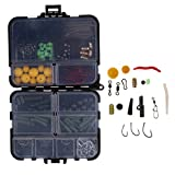 Best Bass Fishing Lines - MagiDeal 189pcs/box Fishing Accessories Kit, Including Jig Hooks Review