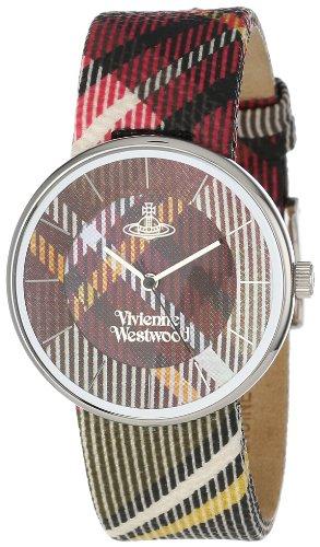 Vivienne Westwood - VV020BR - Montre Mixte - Quartz - Analogique - Bracelet Cuir Multicolore