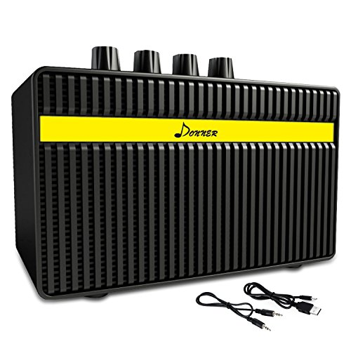 Röhren-combo-amp (Donner Elektrischer Gitarrenverstärker 3W wiederaufladbar Mini Gitarren Amplifier)