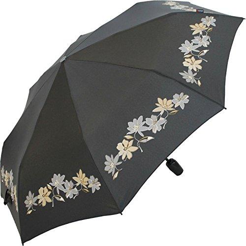 knirps-ombrello-fiber-t2-duomatic-blumenspiel-black