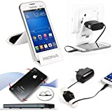 Riona Mobile holder A5S White + Hanger Stand + Cable Organizer + Scratch Guar... A5SW-C best price on Amazon @ Rs. 546