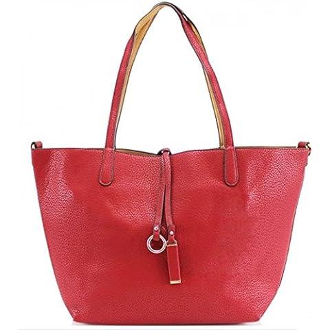 LeahWard taglia larga Shopper Donna Tote Borse Donna Stilista di moda Borse a tracolla Borse ConFree Piccolo Borsa Qualità ECOPELLE CW0033 6830