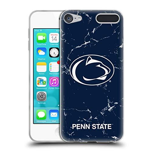 Head Case Designs Offizielle Pennsylvania State University PSU Marmor Soft Gel Huelle kompatibel mit Apple iPod Touch 6G 6th Gen State University Ipod Touch