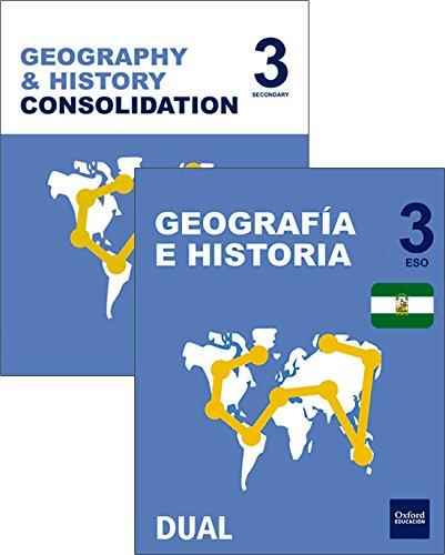 Inicia dual geografía e historia 3º eso programa bilingüe andalucía pack alumno