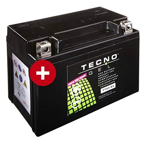 Tecno YTX9-BS Gel Batterie ET4 125 1996-2000