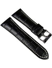 Festina Ersatzband Uhrenarmband Leder Band 28mm schwarz/weiss F16235/6 F16235 F16234 F16294