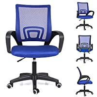 Computer Desk Chair Black/Grey/Blue/Green/Red/Orange Office Executive Mesh Chair Swivel chair
