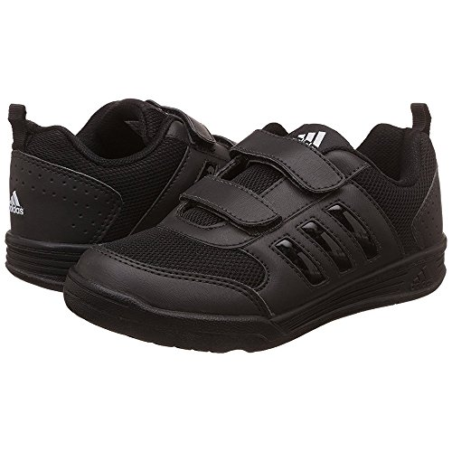 black adidas school shoes
