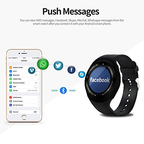 Zoom IMG-1 smart watch idealby rotondo android
