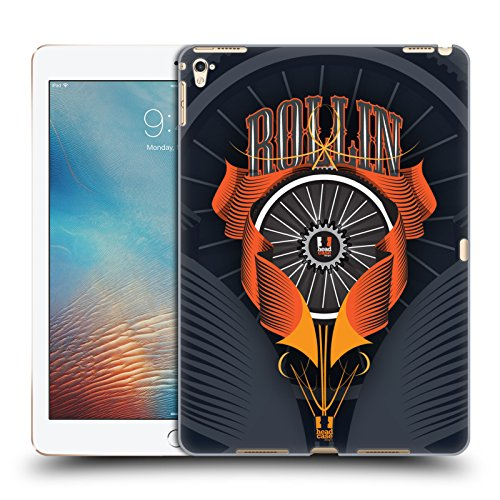 Head Case Designs Radsatzwelle Fahrradteile Ruckseite Hülle für Apple iPad Pro 9.7