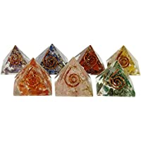 Harmonize Multistone Orgon Pyramide 7 StŸck Reiki Kristall Chakra-Energie-Generator preisvergleich bei billige-tabletten.eu