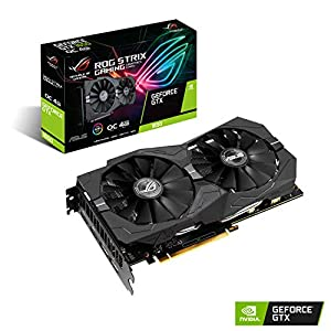 ASUS ROG-STRIX-GTX1650-O4G-GAMING GeForce GTX 1650 4GB GDDR5 Graphics Card (GeForce GTX 1650, 4GB, GDDR5, 128 bit, 7680 x 4320 pixels, PCI Express 3.0)