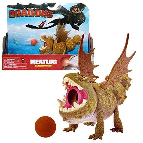 Dragons - Action Spiel Set - Drachen Fleischklops Meatlug
