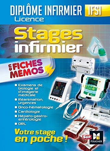 Stages infirmier en fiches mémos IFSI