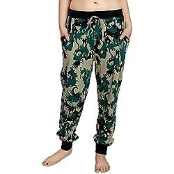 AV2 Women Cotton Military Print Pyjama