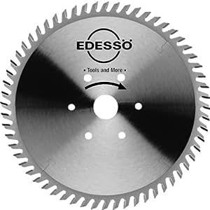 Edessö Lame de scie circulaire en métal dur pour agrégat à inclinaison 60 dents, denture alternée 500 x 4,0 / 3,0 x 30