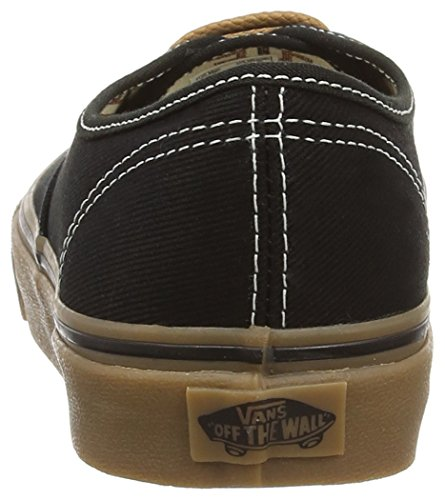 Vans Authentic, Sneakers Basses Mixte Adulte Noir (T&G/Black/Gum)