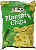 Grace Green Plantain Chips 85 g (Pack of 12)