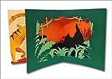 Das Dschungelbuch - der Kinderbuch Klassiker mit dreidimensionalen Elementen in einem Pop-up Buch