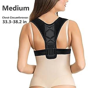 Shoulder Posture Brace - Shoulder Support Sleeve for Arthritis Sports Women and Men - Injury Prevention, Dislocated AC Joint, Frozen Shoulder Pain, Sprain, Soreness, Bursitis, Tendinitis - Left Right