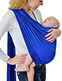 GudeHome Bambino Wrap Infant Anello Sling Pouch appena nato al bambino Viaggi Quick Dry acqua di mare Spiaggia Carrier - Dark Blue