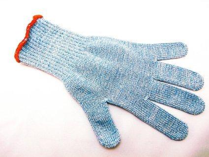 PROFI Filetierhandschuh Filitierhandschuh Handschuh Schnittschutzhandschuh Schnittschutzhandschuhe Schnittschutz handschuh Stechschutz Stechschutzhandschuh Strickgewebe aus Kunststofffaser mit Draht fadeneinlage Metzger Metzgerei