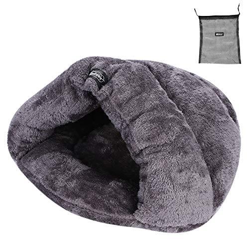 Pet letto divano 2 in 1 grande nido gatto cucciolo portatile sacco a pelo letto