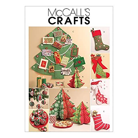 McCalls Sewing Pattern 5778 Crafts for Christmas Sizes: One Size by McCall's