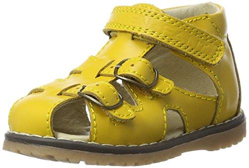 EN FANT Eos Sandal, Bride cheville mixte enfant Gelb (Yellow)