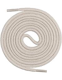 Mount Swiss Premium-Schnürsenkel, Rundsenkel aus 100% Baumwolle, reißfest, ø 3 mm - 4 mm, 12 Farben, Längen 45-200 cm