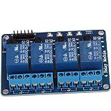 lgking supply - Tarjeta de relés para Arduino (5 V, 4 canales)