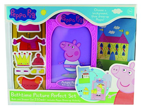 Peppa Pig picture perfect for the bathtub Set