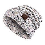 Berretti in maglia, Moliker Unisex Inverno Caldo slouchy Lana Cappello Cranio berretto per Donne & Uomini (C9001)