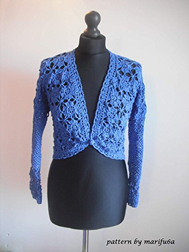 elegant crochet bolero jacket pattern pdf nr 50: elegant crochet bolero jacket pattern pdf nr 50 (English Edition)