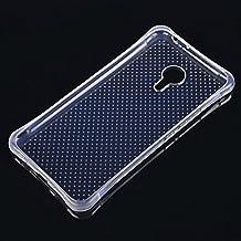 COOLKE Anti Slip azos Resistente Soft Transparente TPU Funda Silicona Protective Carcasa Tapa Case Cover Para Meizu MX5 Pro, MX Supreme, Pro 5 (5.7 inches) - Transparent