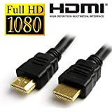 Cable World 1.4 V High-Speed HDMI Cable (5 Meters) 30 Feet Supports Ethernet, 3D, 4K and Audio Return (Black) 1 Year Full Warranty