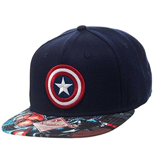 Offizielle Captain America Schild Baseball Hysterese Mütze Hut (Hüte Captain America)