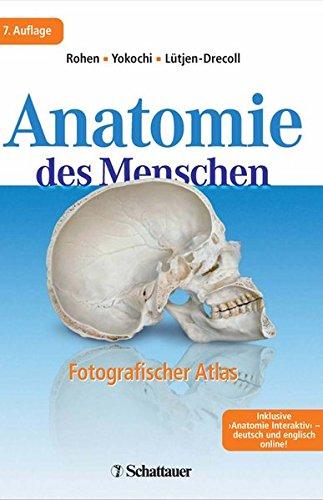 Anatomie des Menschen fotografischer Atlas der systematischen und topografischen Anatomie