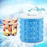 Silikon Ice Cube Maker Genie, NEU tragbar Ice Cube Bucket, Ice Cube Maker + Eis Behälter + ICE POP Form + tragbar Ice Party Tub, in ice cube Küche Werkzeug, BPA-frei