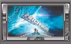"""Belson Autoradio et lecteur DVD / MP3 / GPS Tout en un / Ecran tactile LCD 6,5"""""""