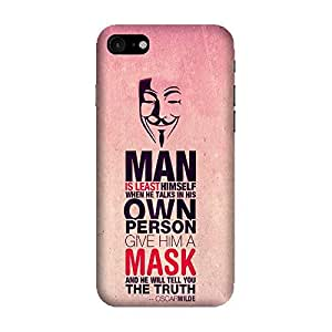 GADGETS WRAP Printed Back Cover and Case For Apple iPhone 7( oscar wilde quotes case20edit )