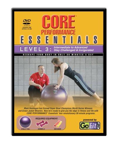 3 Essential Training (GoFit Balance Core Essentials DVD & Training Karte–Level 3)
