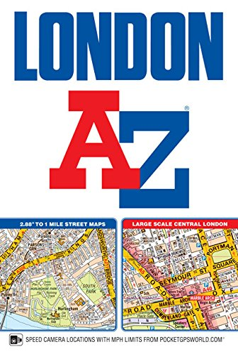 London Street Atlas (A-z Map London)