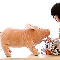 Rainbow Fox Kids Animal Toys Cute Pig Pillow Stuffed Plush Toys Soft Cushion (55cm)