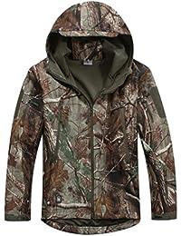 Gear Reebow militar táctico chaqueta de forro polar con capucha al aire libre