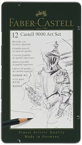 Faber-Castell 9000 Art Set 12 x Pencils